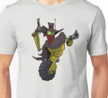 Robot Gunslinger Unisex T-Shirt