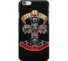 PUGS N' ROSES : APPETITE FOR EVERYTHING iPhone Case/Skin