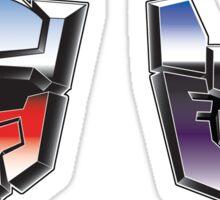Optimus Mario versus Bowsertron Sticker