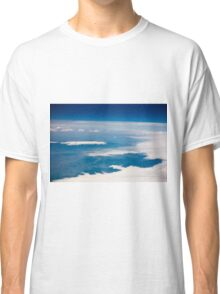 the view from the plane Classic T-Shirt