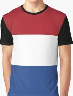 Netherlands Flag Graphic T-Shirt