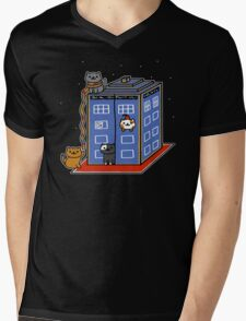 Who Atsume Mens V-Neck T-Shirt