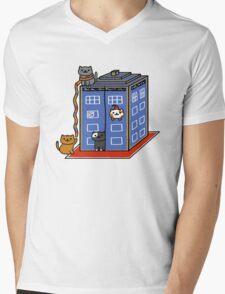Who Atsume Mens V-Neck T-Shirt