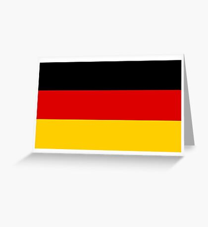 Germany Flag Greeting Card