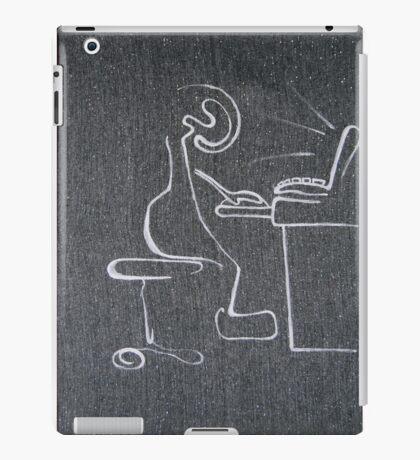 computer, 2011, 50-70cm, acrylic on canvas iPad Case/Skin