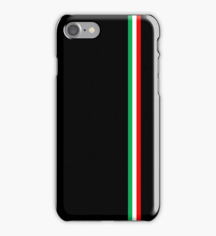 Minimalist Italian Flag Design iPhone Case/Skin