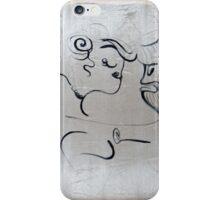 dance, 2011, 50-70cm, acrylic on canvas iPhone Case/Skin