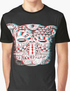 Spirit Bear 3D Graphic T-Shirt
