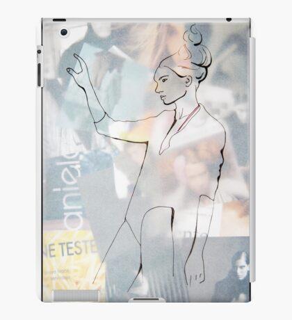 Fashion 1, A4, 2011, mixed technique iPad Case/Skin