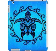 Maori Ocean Blue Turtle iPad Case/Skin