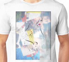 Fashion 4, A4, 2011, mixed technique Unisex T-Shirt