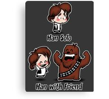Han with Friend Canvas Print