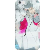 Fashion 5, A4, 2011, mixed technique iPhone Case/Skin