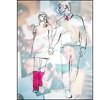 Fashion 7, A4, 2011, mixed technique Photographic Print