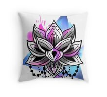 Lottus Throw Pillow