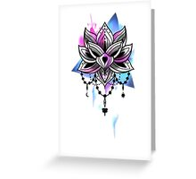 Lottus Greeting Card