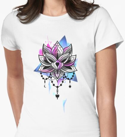 Lottus Womens Fitted T-Shirt