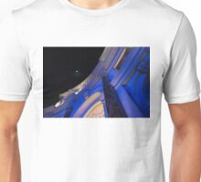 Moon at the Forum Shops - Las Vegas Neon Glow Unisex T-Shirt
