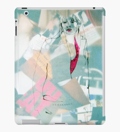 Fashion 9, A4, 2011, mixed technique iPad Case/Skin