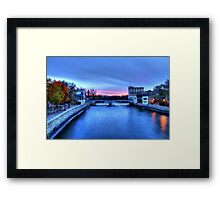 Cannon River Framed Print