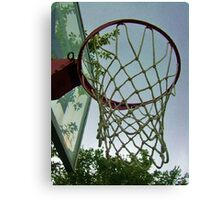 lets shoot some hoops Canvas Print