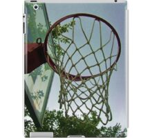 lets shoot some hoops iPad Case/Skin