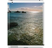 Low Tide at The Rock iPad Case/Skin
