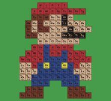 Periodic Mario Table One Piece - Short Sleeve
