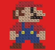 Periodic Mario Table One Piece - Short Sleeve