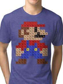 Periodic Mario Table Tri-blend T-Shirt