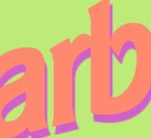 80s Malibu Babe Sticker