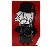 Grand Undertaker- Black Butler chibi Poster