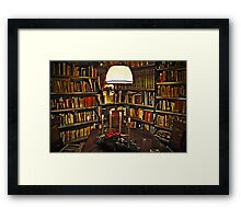 My room before Christmas Framed Print