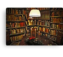 My room before Christmas Canvas Print