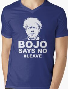 Bo Jo says no ukip Mens V-Neck T-Shirt