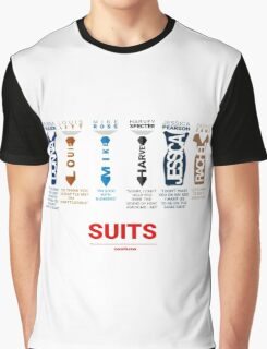 SUITS | DIALOGUE - SUITS FAMILY Graphic T-Shirt