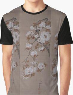 Hirose Kain - Cherry Blossoms . Japanese Still Life  Graphic T-Shirt
