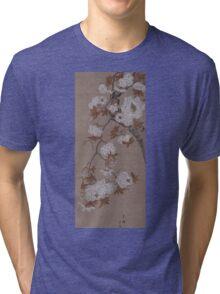 Hirose Kain - Cherry Blossoms . Japanese Still Life  Tri-blend T-Shirt