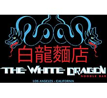 White Dragon - Noodle Bar Cantonese Variant Photographic Print