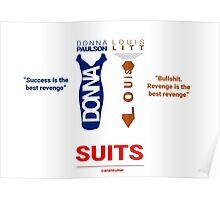 SUITS | DIALOGUE - DONNA-LOUIS Poster