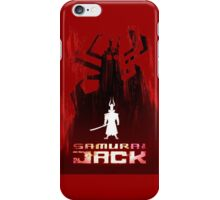 Samurai Jack is Back iPhone Case/Skin