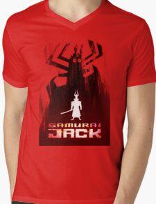 Samurai Jack is Back Mens V-Neck T-Shirt