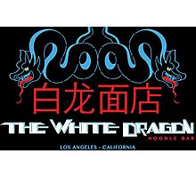 White Dragon - Noodle Bar Mandarin Variant Photographic Print