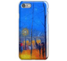 Starry Night Paris iPhone Case/Skin