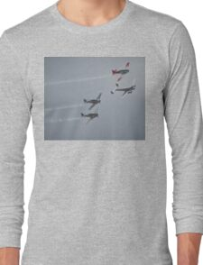 The Sound Of Round,Temora Airshow,Australia 2008 Long Sleeve T-Shirt