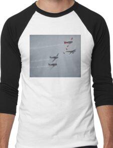 The Sound Of Round,Temora Airshow,Australia 2008 Men's Baseball ¾ T-Shirt