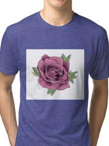 Alex Gaskarth Rose Tattoo Tri-blend T-Shirt