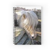 Just trim the bangs ! Spiral Notebook