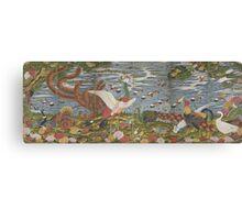 ITO Jakuchu - Animals in the Flower garden.  Japanese Landscape  Canvas Print