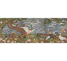 ITO Jakuchu - Animals in the Flower garden.  Japanese Landscape  Photographic Print